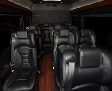 Ford Transit interior view