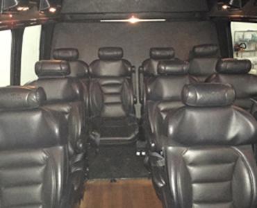 Executive Shuttle interior view